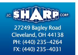 JC SHARP CORPORATION - 27249 Bagley Rd., Olmsted Falls, OH 44138